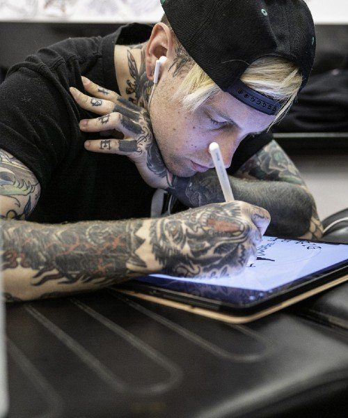 Tattoo artist - Paul - Underground Tattoo Enfield